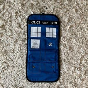 Handbags - Doctor Who TARDIS shower caddy